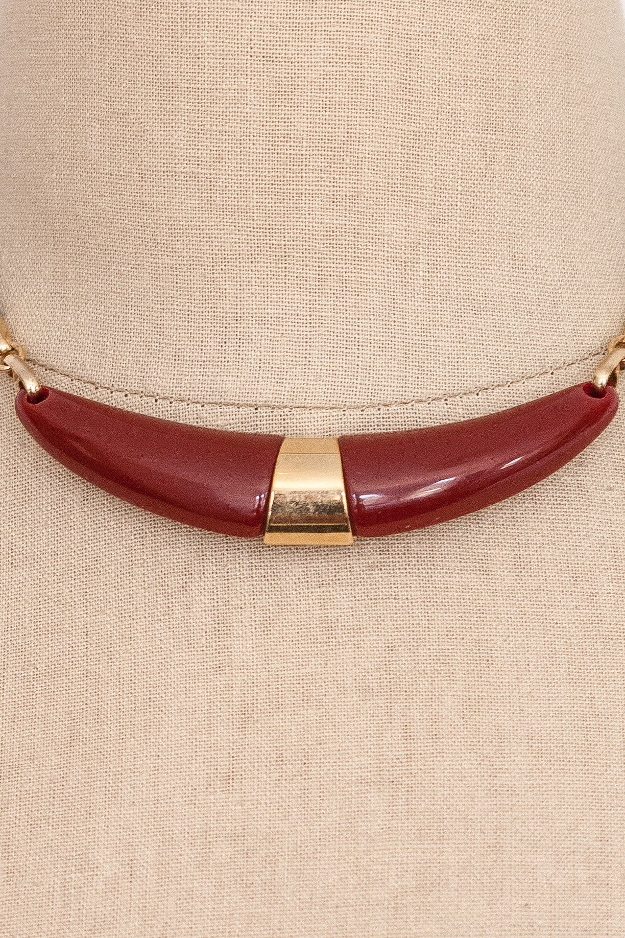 70's__Sarah Coventry__Bar Necklace