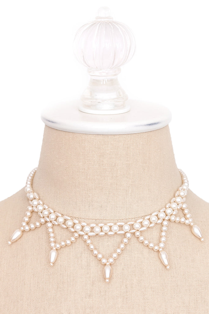 50's__Vintage__Pearl Drop Necklace