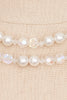 50's__Vintage__Pearl and Crystal Necklace
