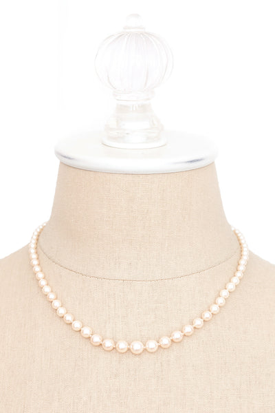 70's__Monet__Pearl Necklace