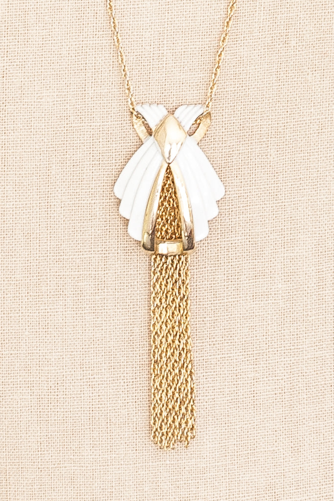 70's__Direction One__Tassel Necklace