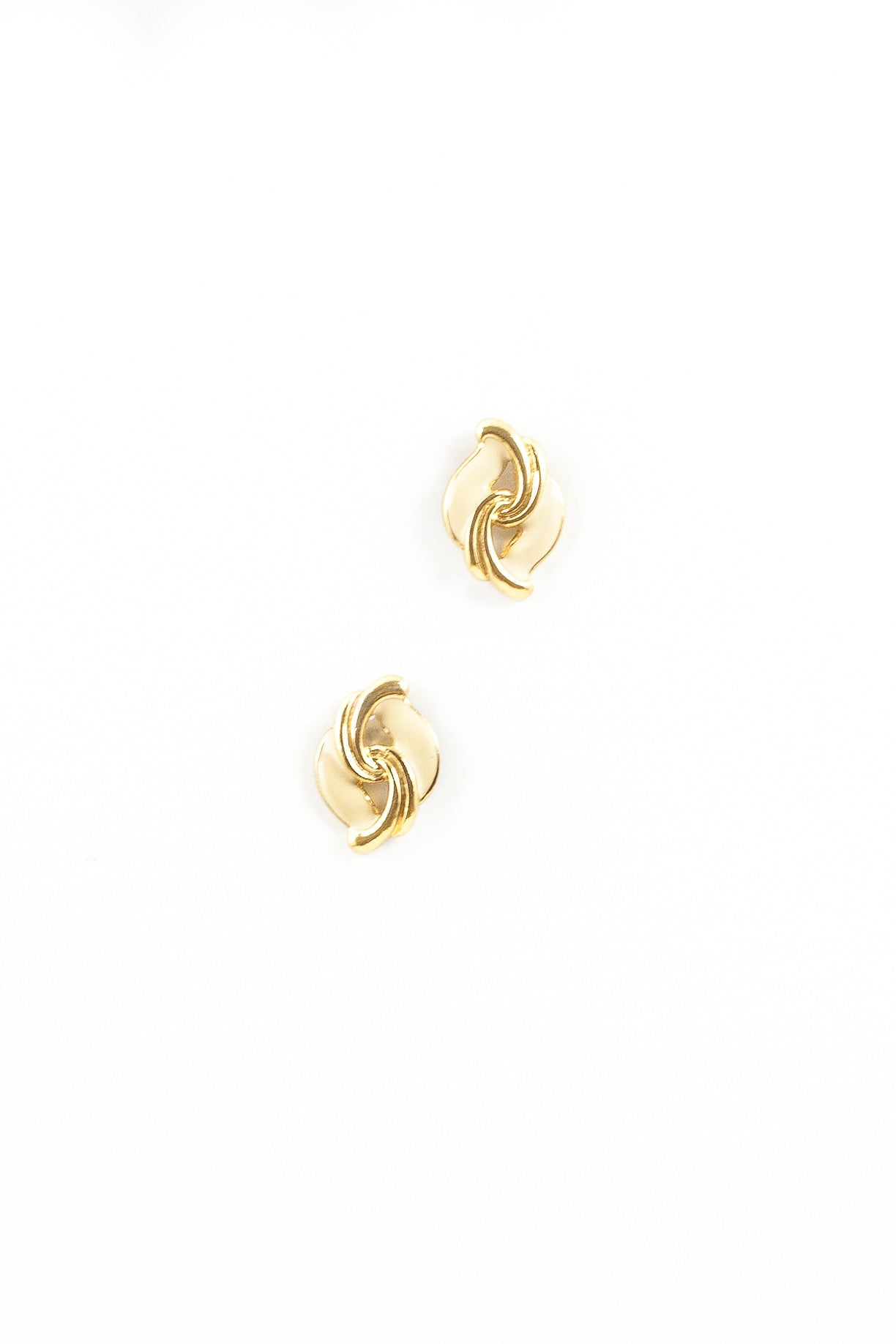70's__Vintage__Swirl Earrings