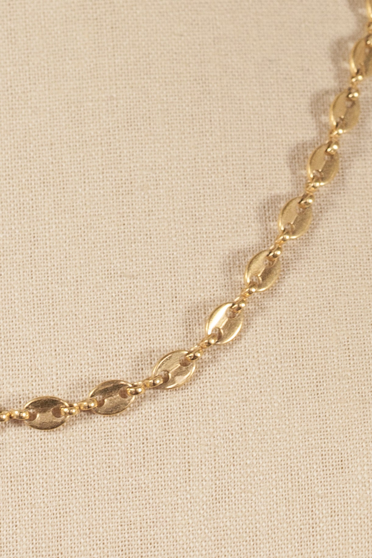 80's__Napier__Ovals Link Necklace