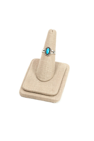 60's__Vintage__Turquoise Ring