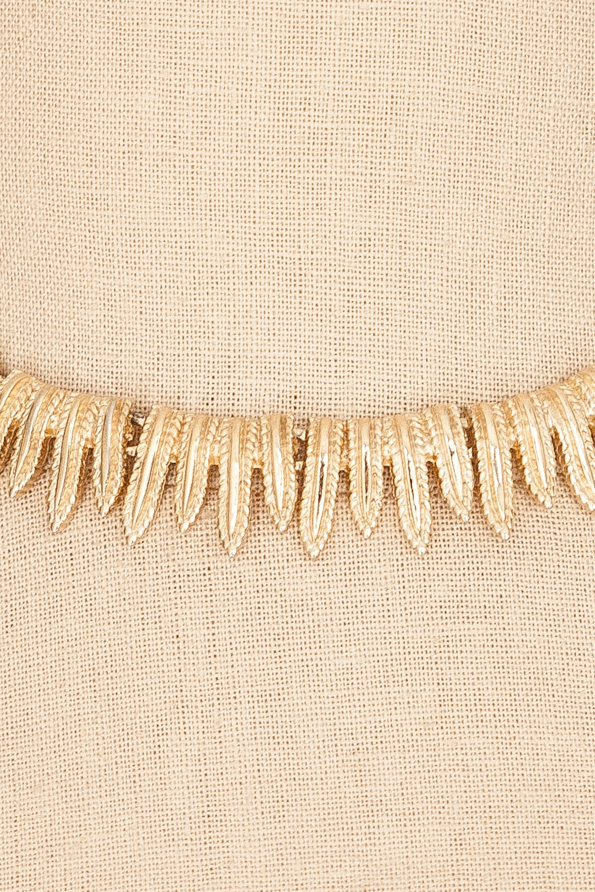 60's__Trifari__Fringe Statement Necklace