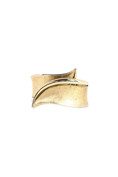 50's__Trifari__Twisted Cuff Bracelet