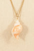 70's__Avon__Seashell Pendant Necklace