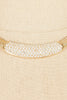 80's__Christian Dior__Rhinestone Bar Necklace