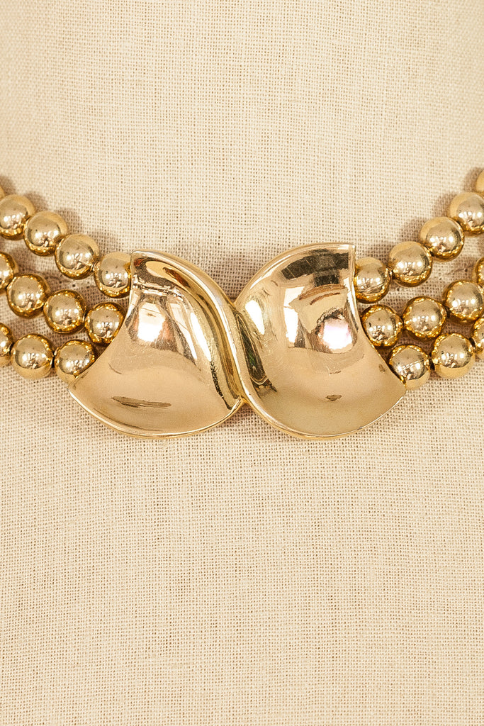 60's__Napier__Statement Ball Necklace