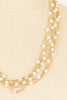 60's__Vintage__Pearl Multi Chain Necklace