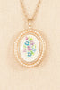 70's__Avon__Pretty Locket Necklace