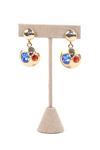 90's__Gennaro__Drop Statement Earrings