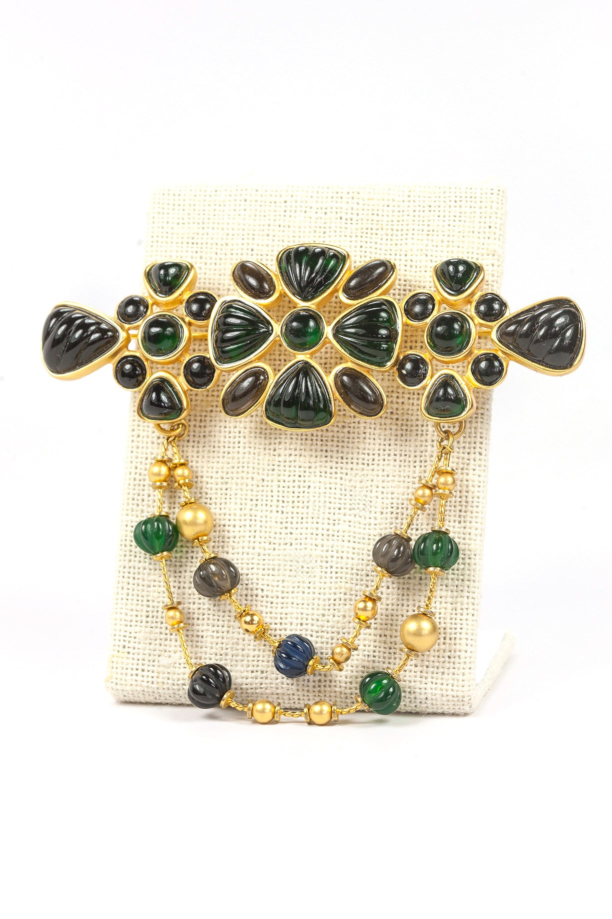 90's__Liz Claiborne__Statement Bar Brooch