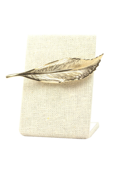 70's__Vintage__Feather Brooch
