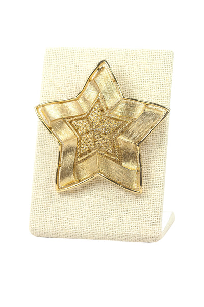 60's__Lisner__Star Statement Brooch