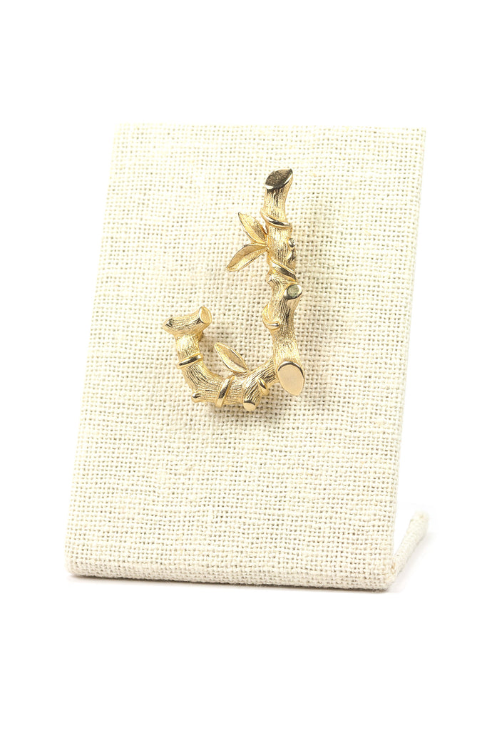 60's__Sarah Coventry__J Bamboo Brooch