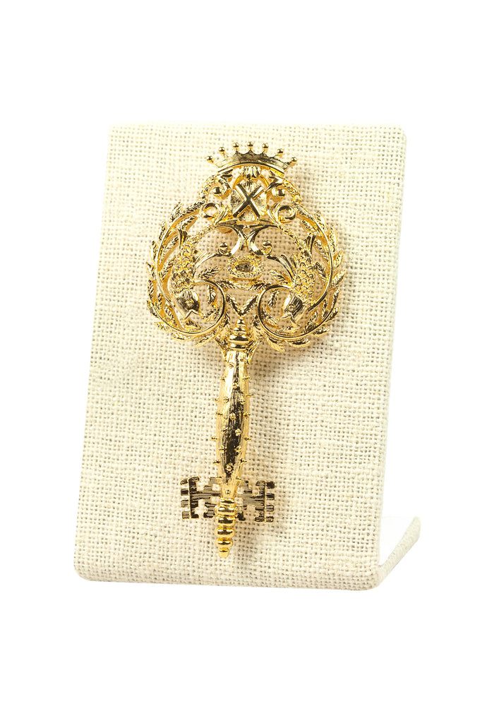 60's__Monet__Statement Key Brooch