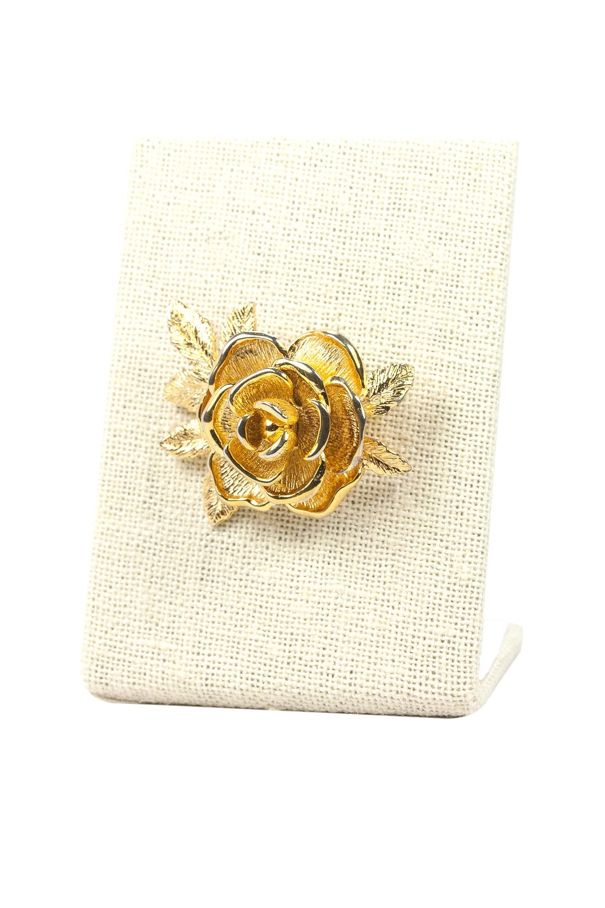 60's__Sarah Coventry__Rose Brooch