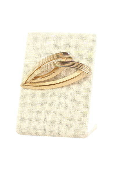 60's__Trifari__Edgy Brooch