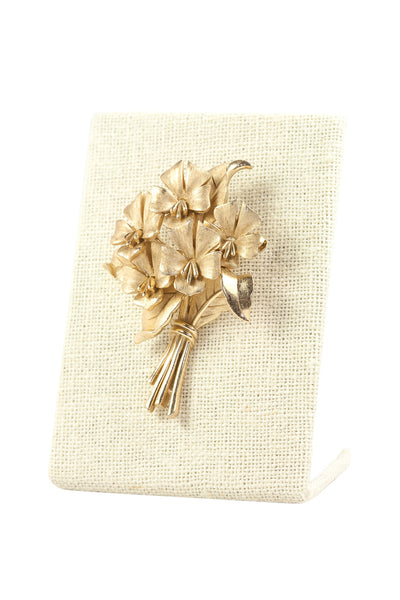 60's__Trifari__Bunches Brooch