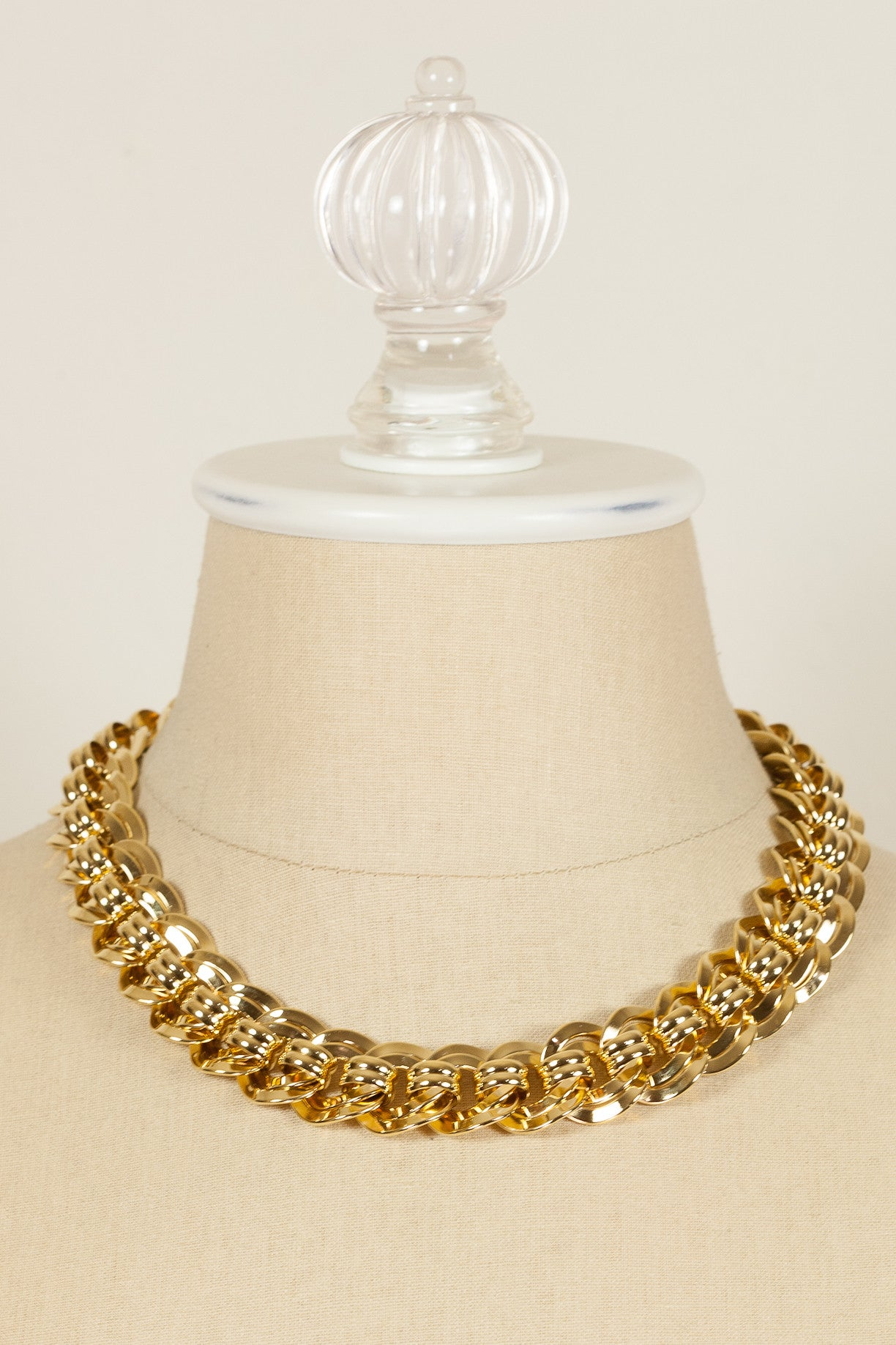 80's__Monet__Chunky Link Necklace