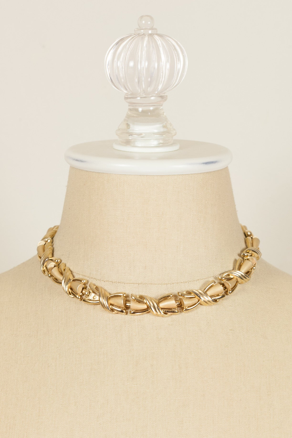 70's__Trifari__Chunky Necklace