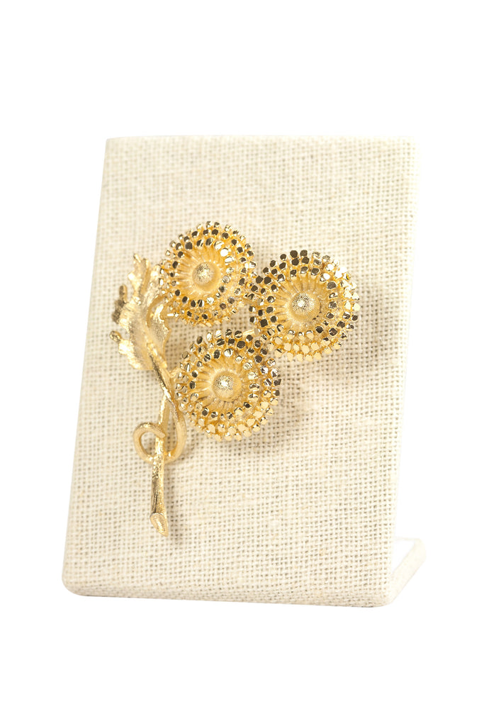 60's__BSK__Bunches Brooch
