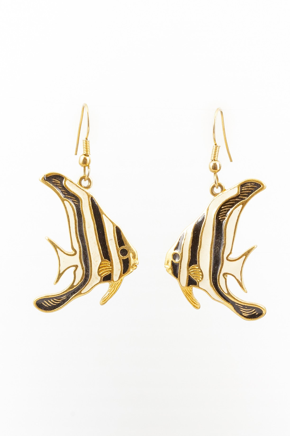 90's__Vintage__Angel Fish Earrings