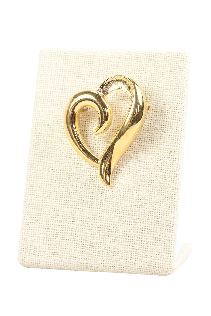 80's__Napier__Heart Brooch
