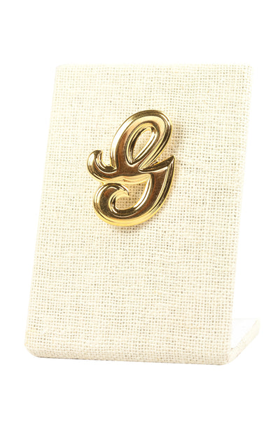 80's__Vintage__Mini G Brooch