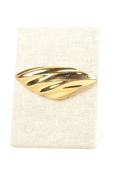 80's__Monet__Bold Gold Brooch
