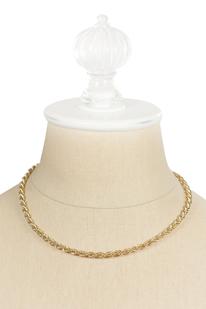 70's__Sarah Coventry__Rope Necklace