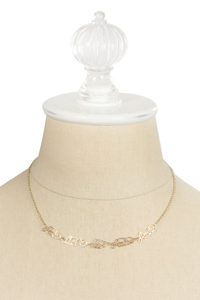 70's__Sarah Coventry__Dainty Amore Necklace