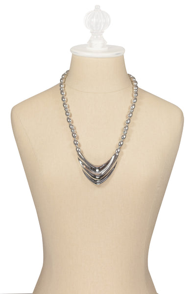 70's__Napier__Chunky V Necklace