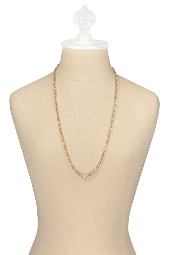 70's__Sarah Coventry__Classic Chain Necklace