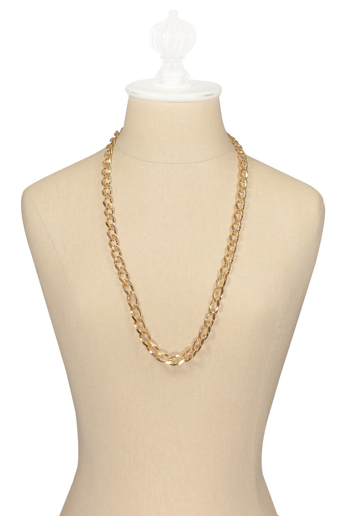 80's__Monet__Chunky Chain Necklace