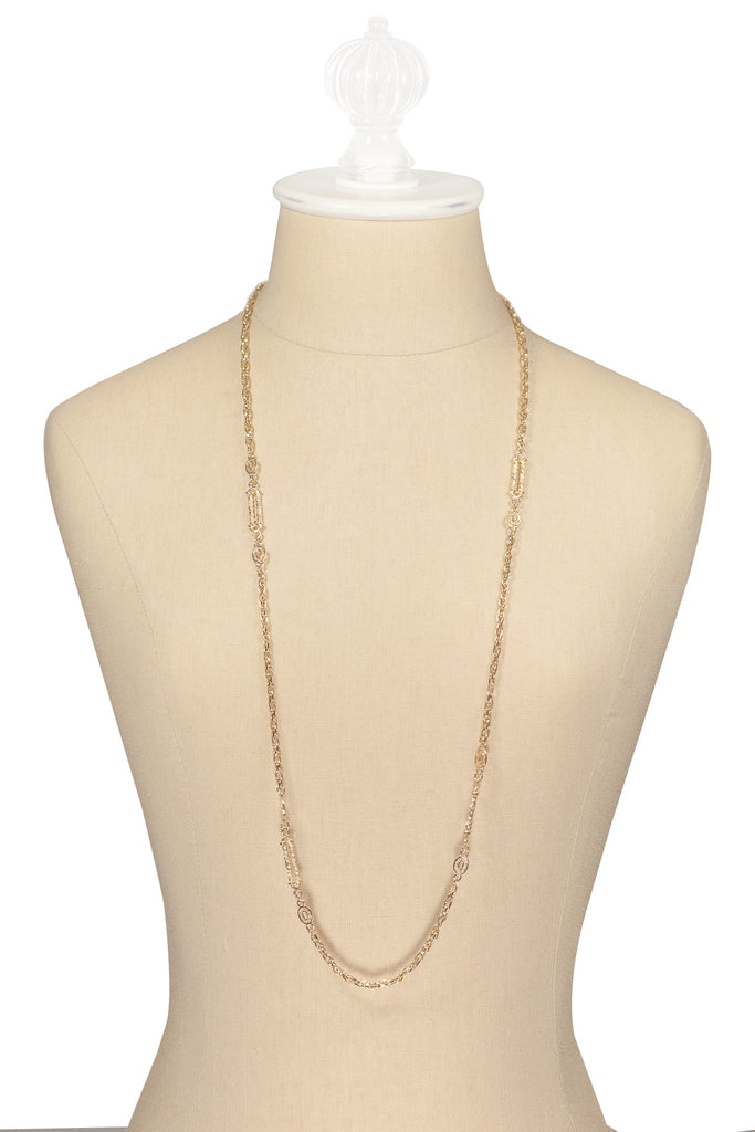70's__Vintage__Long Chain Necklace