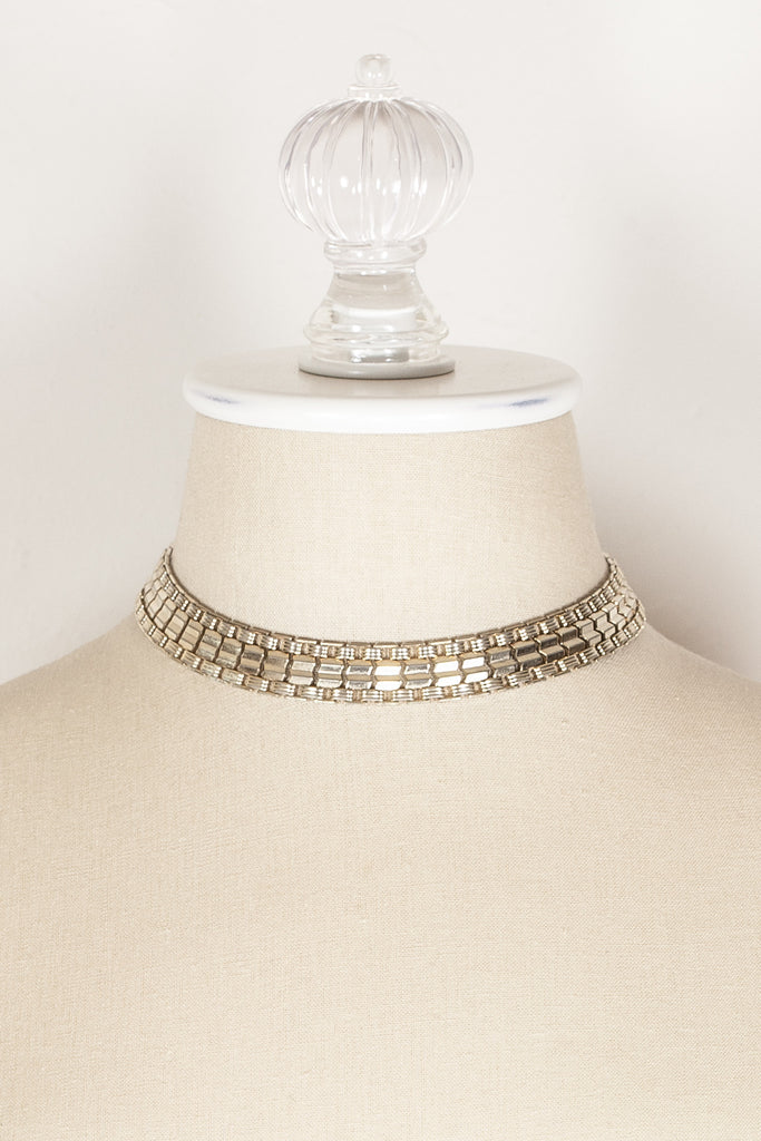70's__Sarah Coventry__Chunky Chain Necklace