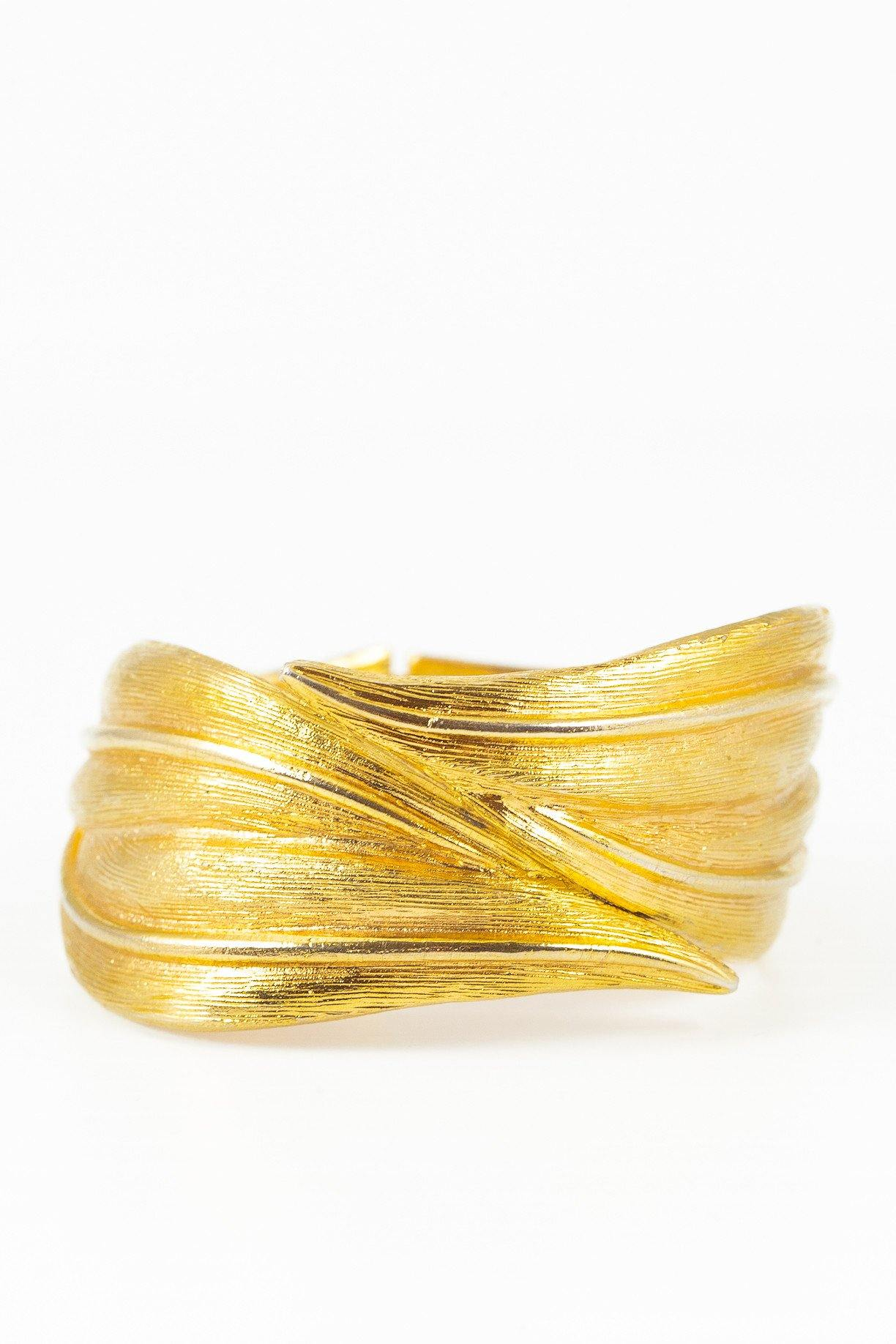 50's__Julio Marsella__Leaf Wrap Bracelet