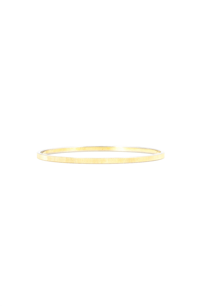 70's__Vintage__Classic Skinny Etched Bangle