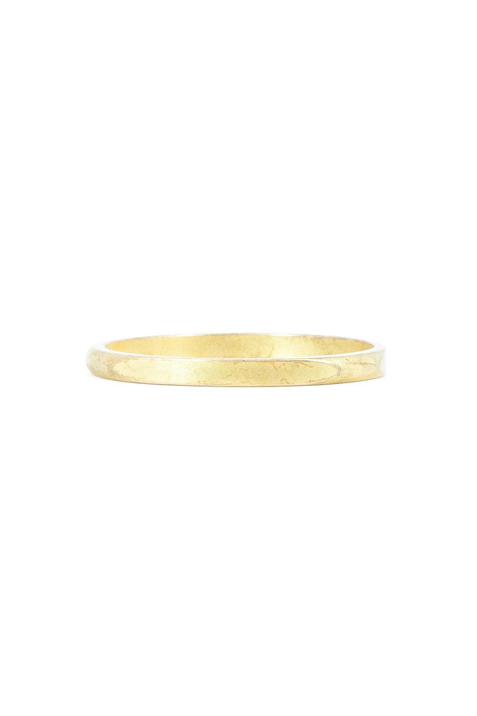 50's__Erwin Pearl__Matte Gold Bangle