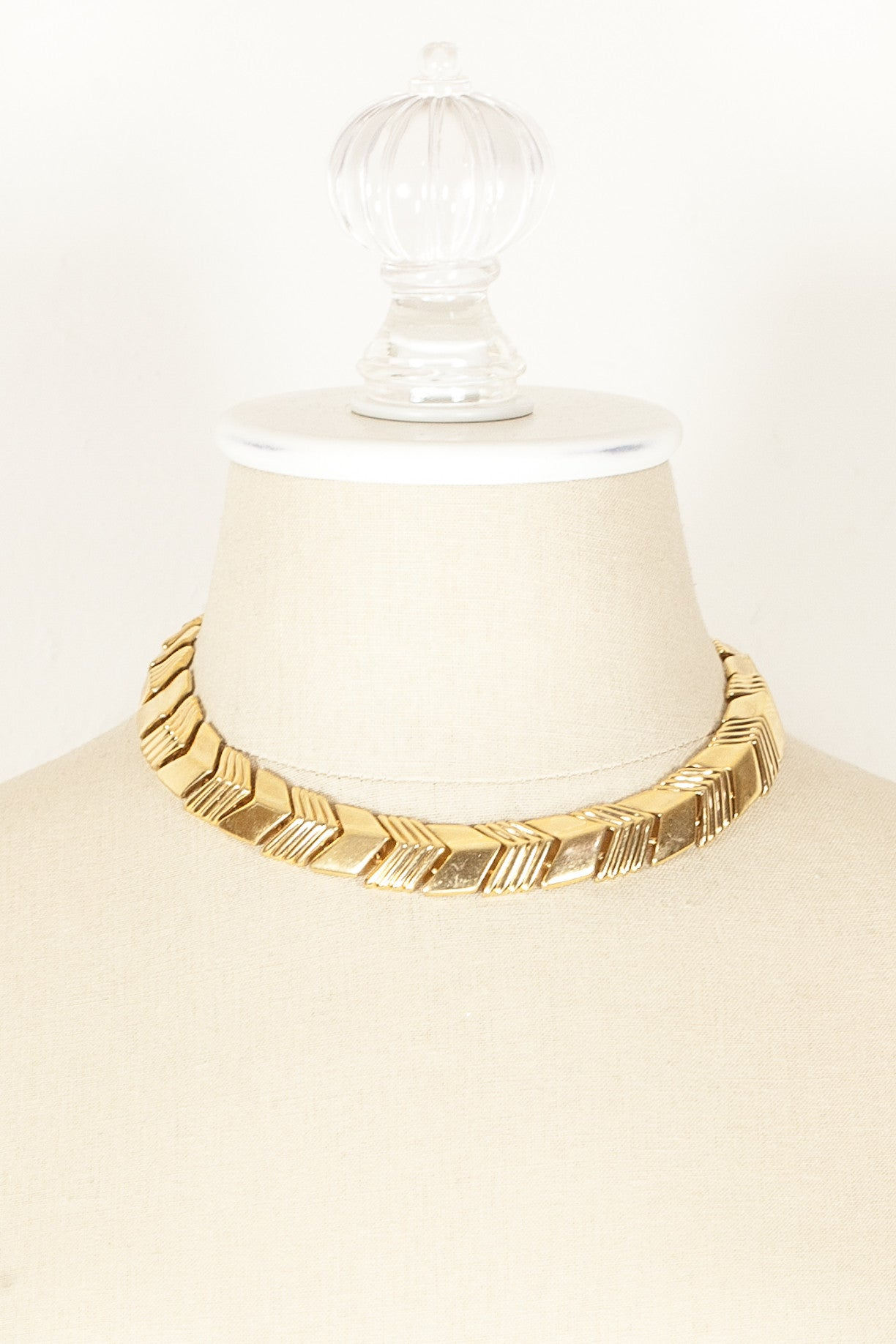 70's__Napier__Arrow Link Necklace