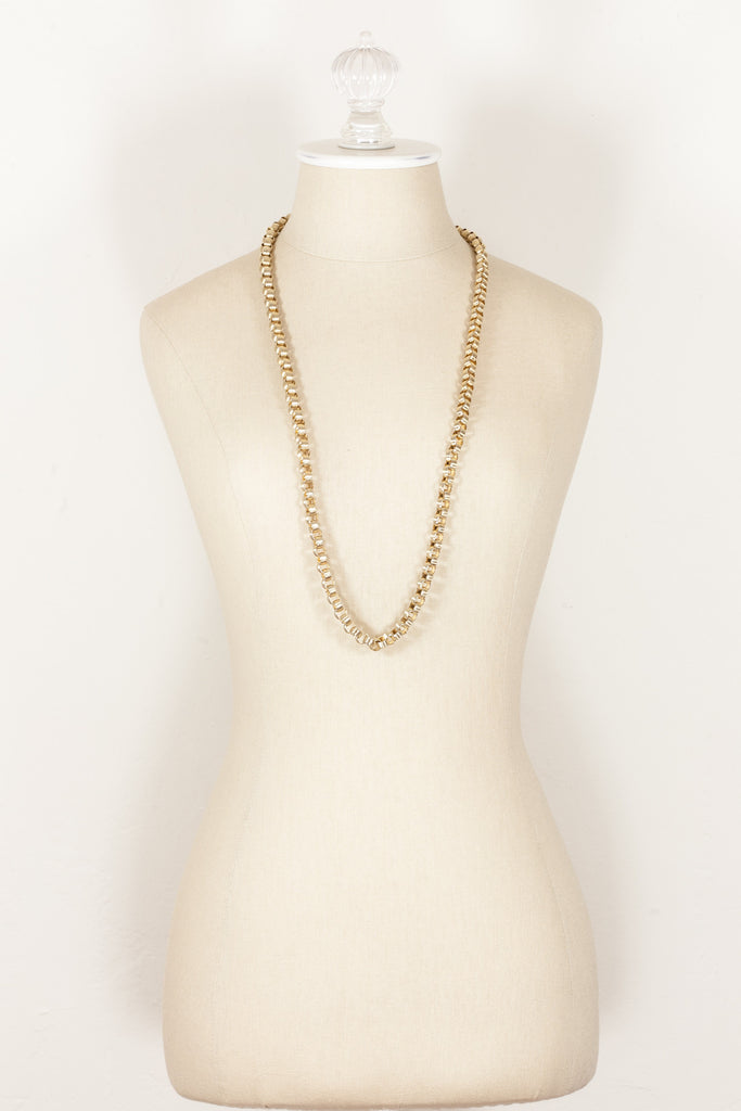 70's__Vintage__Chunky Link Necklace