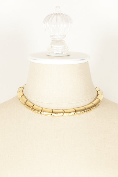 70's__Monet__Chunky Two Toned Necklace