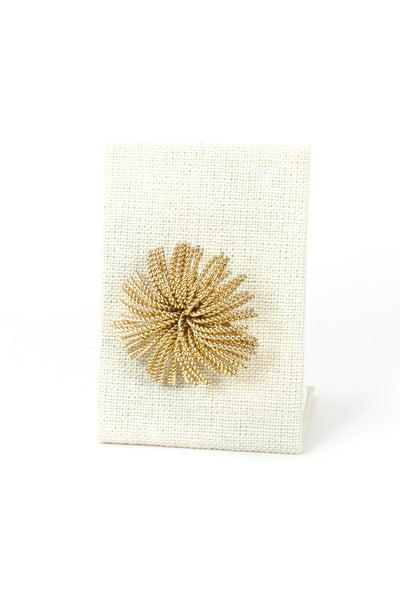 80's__Vintage__Flower Burst Brooch