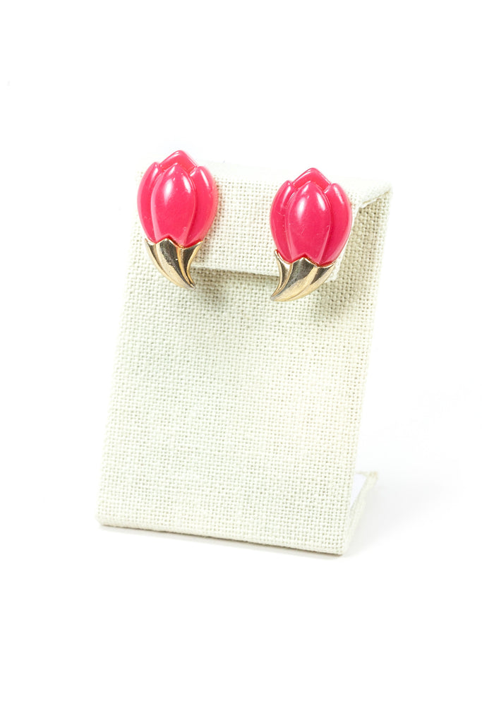 70's__Sarah Coventry__Tulip Earrings
