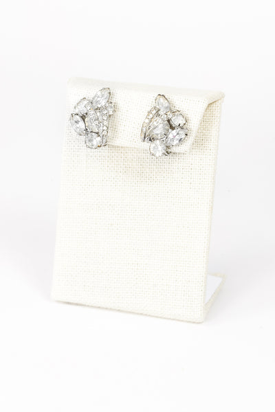 60's__Weiss__Mini Cuff Earrings