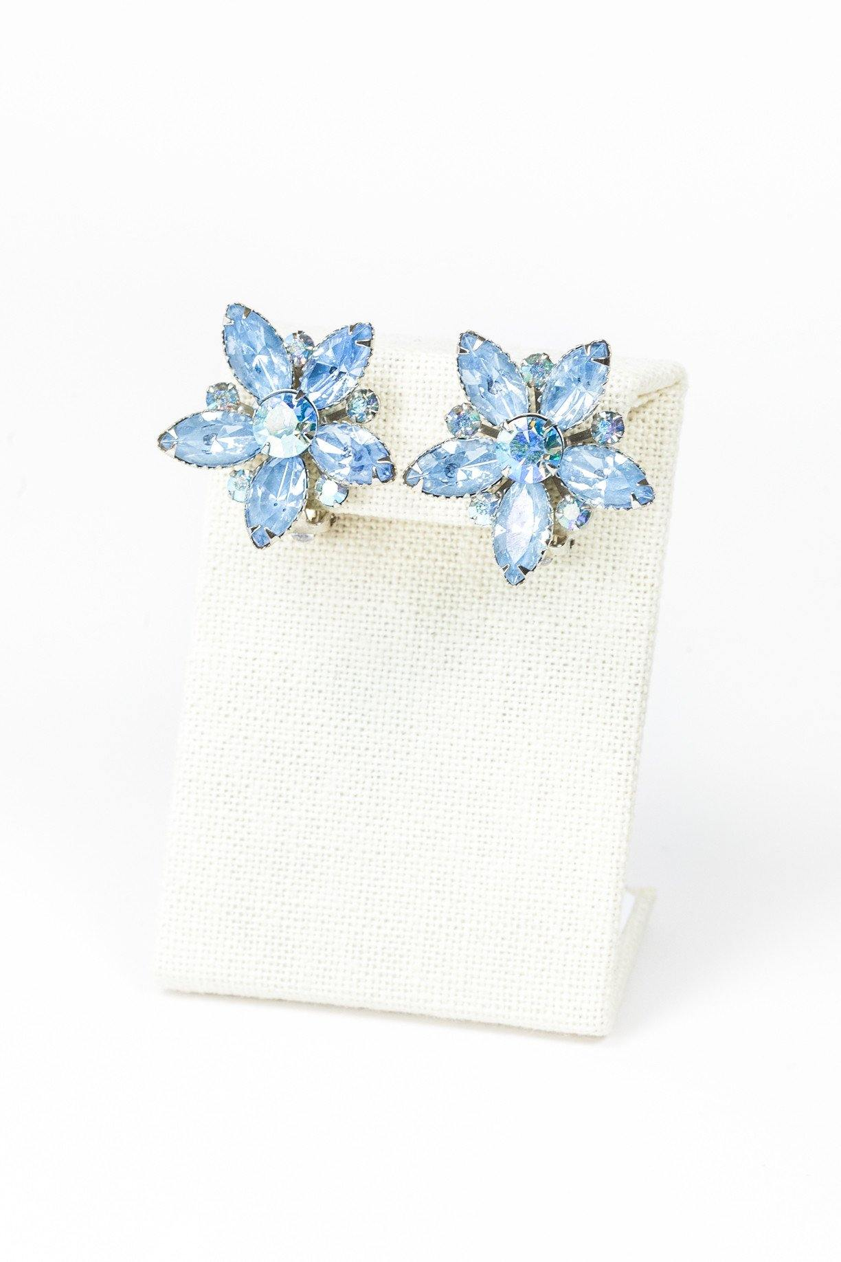 50's__Beaujewel__Floral Earrings