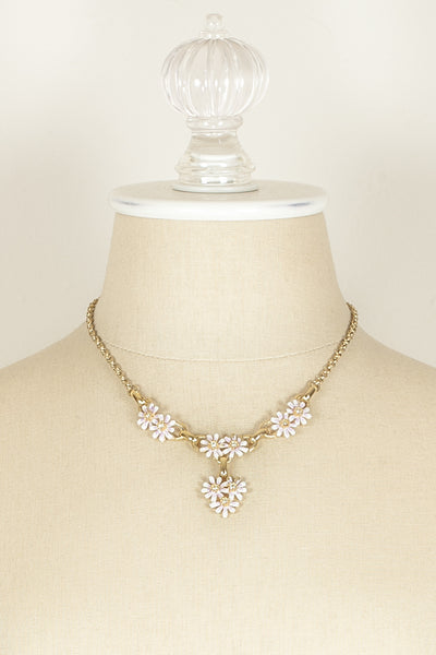 60's__Vintage__Daisy Necklace