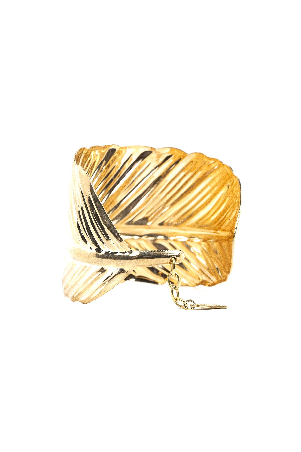 80's__Napier__Statement Feather Cuff